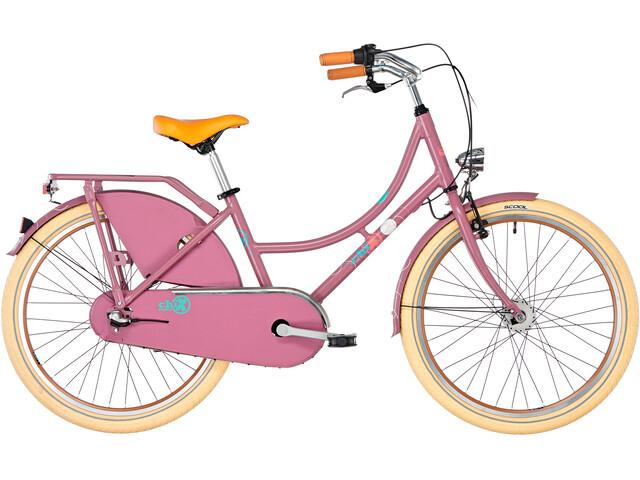 s'cool chiX classic 24 3-S - Vélo enfant - violet